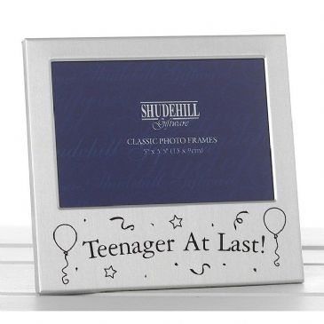 Teenager at Last 13th 13 Birthday Silver Plated Photo Frame